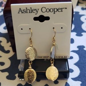 NWT Gold & Silver tone Earrings